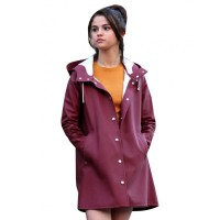 A Rainy Day in New York Selena Gomez Coat