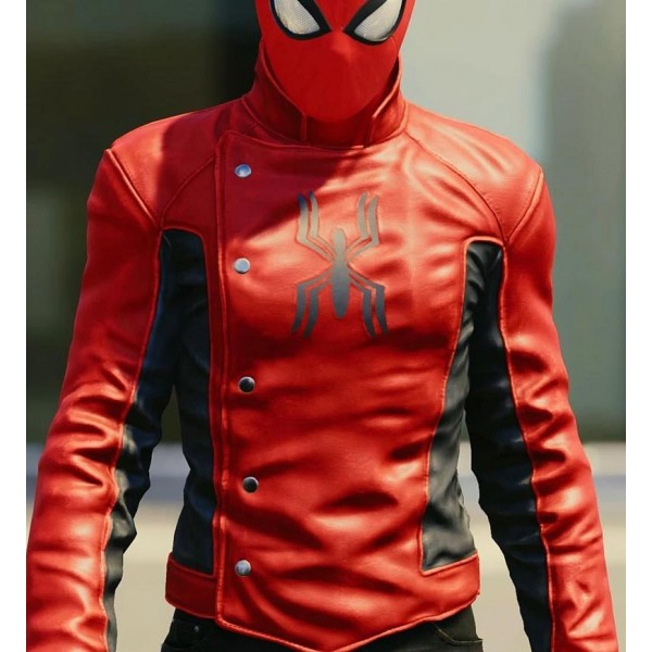 Amazing Spider Man Last Stand Leather Jacket
