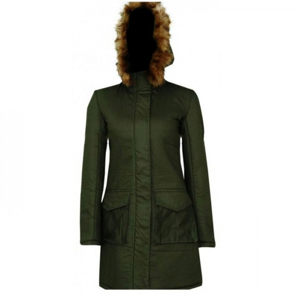 Anna Friel Marcella Backland Coat