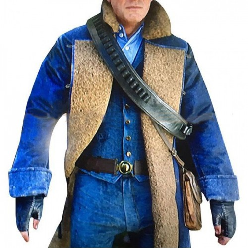 Arthur Morgan Red Dead Redemption 2 Blue Coat
