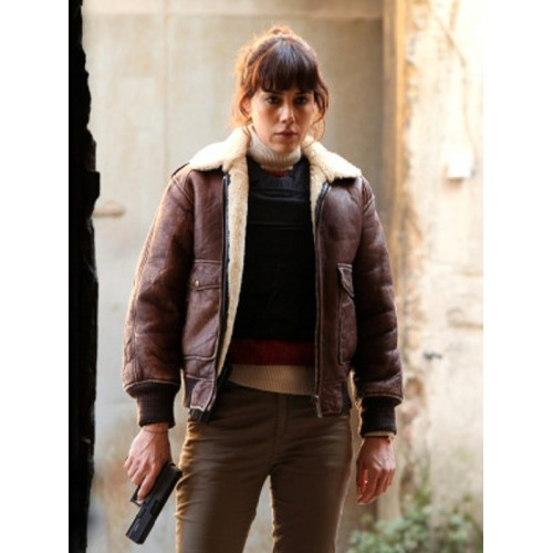 Cansu Dere Tv Series Sahsiyet Genuine Leather Jacket
