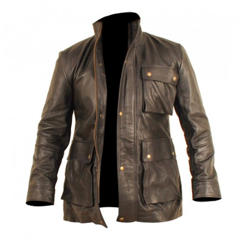 Chris Pine James T. Kirk Star Trek Into Darkness Leather Jacket