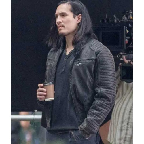 Desmond Chiam The Falcon and The Winter Soldier Leather Jacket