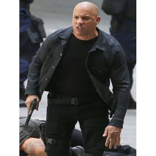 Dominic Toretto Fate of the Furious Jacket