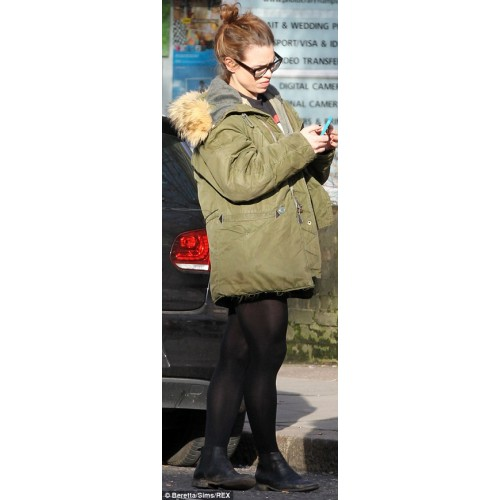 I hate suzie billie piper Green Cotton Jacket