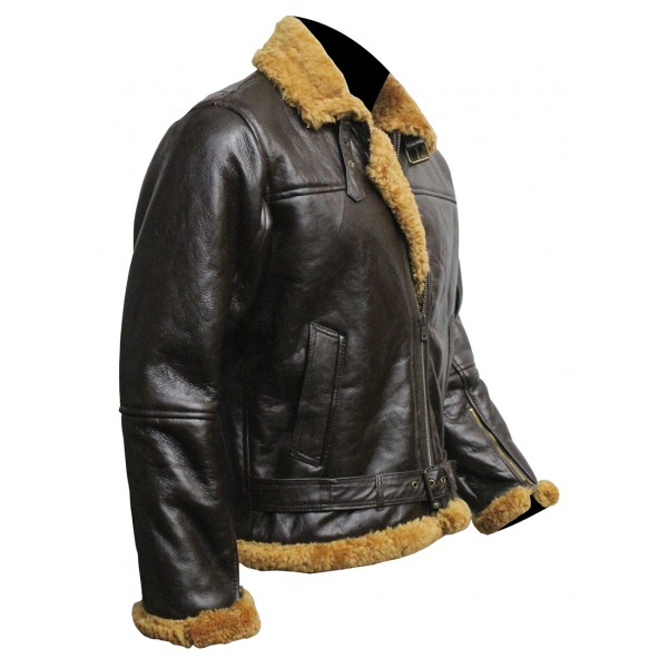 B3 Men Jacket With Real Fur