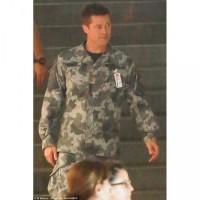 Ad Astra Brad Pitt Millitary Jacket