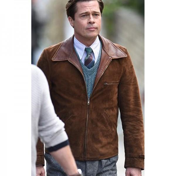 Allied Brad Pitt Jacket