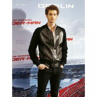 Andrew Garfield Baseball Leather Jacket
