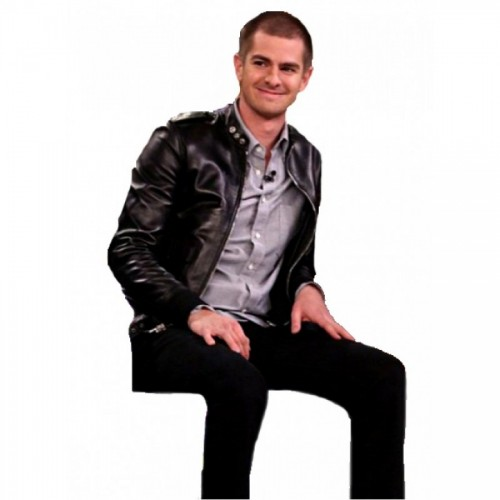 Andrew Garfield The Tonight Show Leather Jacket