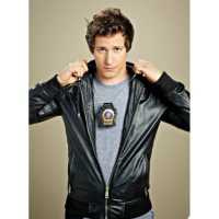Andy Samberg Brooklyn Nine Nine Leather Jacket