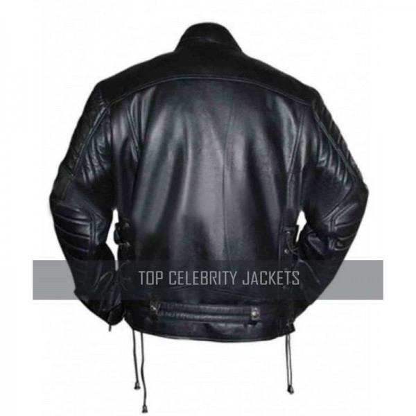 Arnold Schwarzenegger Terminator Genisys Movie Leather Jacket