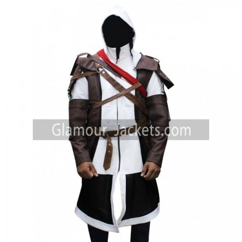 Assassins Creed 4 Edward Kenway Leather Coat