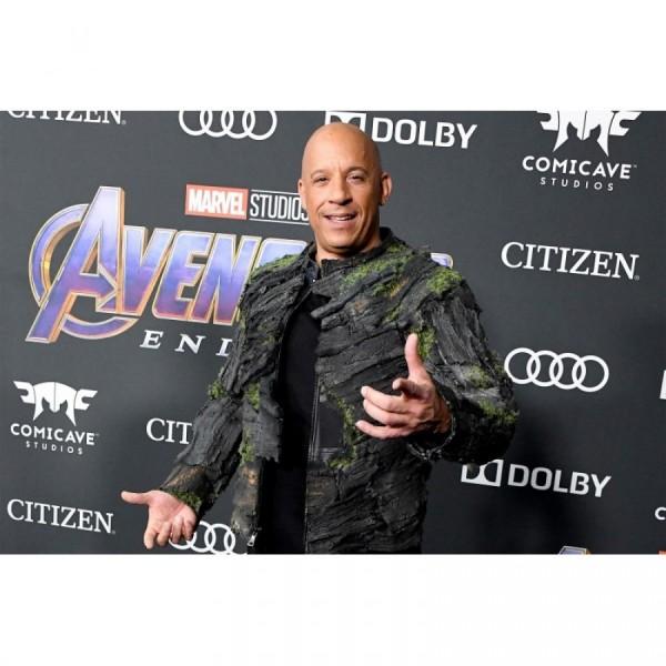 Avengers Endgame Vin Diesel Im Groot Jacket