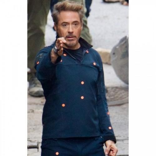 Avengers Robert Downey Jr Tony Stark Iron Man Jacket
