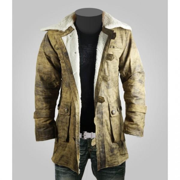Bane Tom Hardy The Dark Knight Rises 2012 Leather Coat