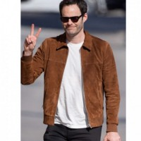 Bill Hader Genuine Leather Jacket