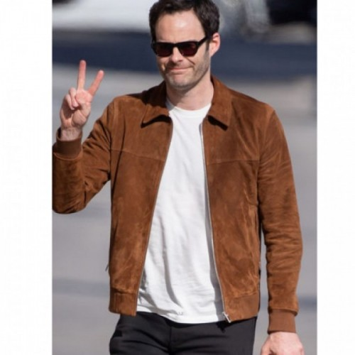 Bill Hader Genuine Leather Jacket