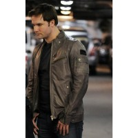 Blake The Good Wife Scott Porter Black Leather Jacket