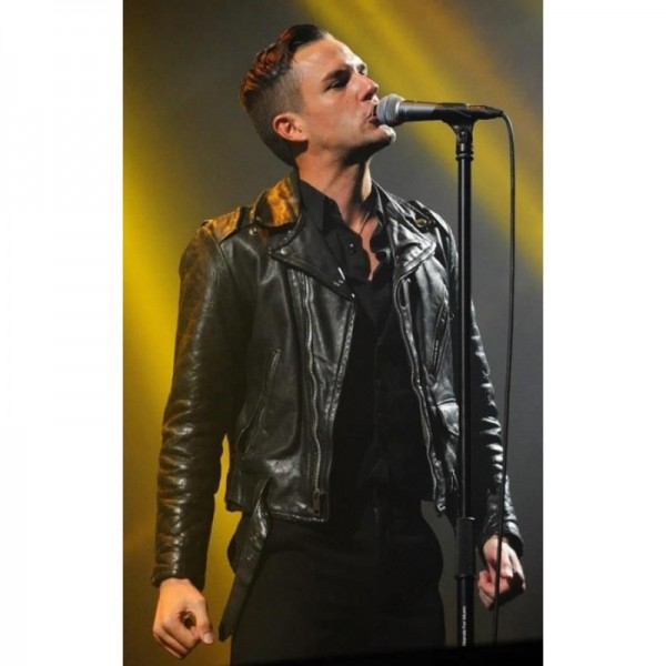 Brandon Flowers Black Jacket
