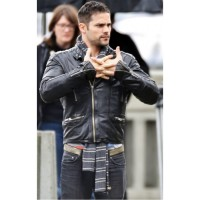 Brant Daugherty Black Jacket
