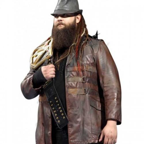 Bray Wyatt Leather Jacket