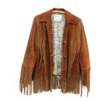 Campbell Brown Leather Jacket