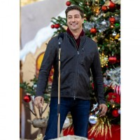 Christmas In Love Daniel Lissing Brown Jacket
