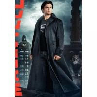 Clark Kent Long Trench Coat
