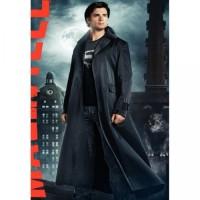 Clark Kent Long Trench Coat