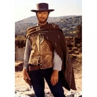 Clint Eastwood The Man With No Name Leather Jacket