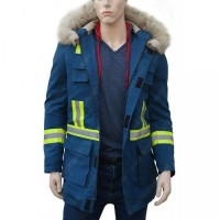 Cold Pursuit Shearling Jacket