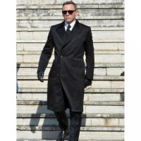 Daniel Craig James Bond Spectre Double Breasted Coat