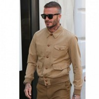 David Beckham Cotton Jacket