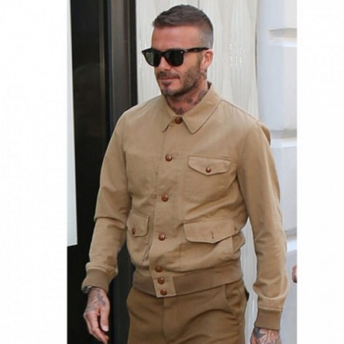 David Beckham Cotton Jacket
