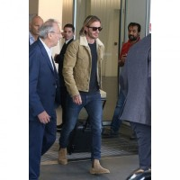 David Beckham Shearling Jacket