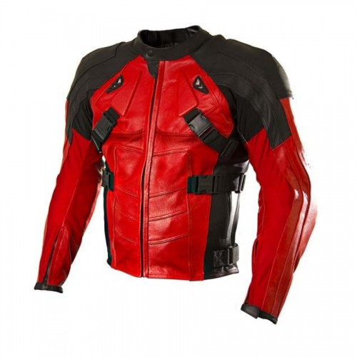 Deadpool Motorcycle Jacket