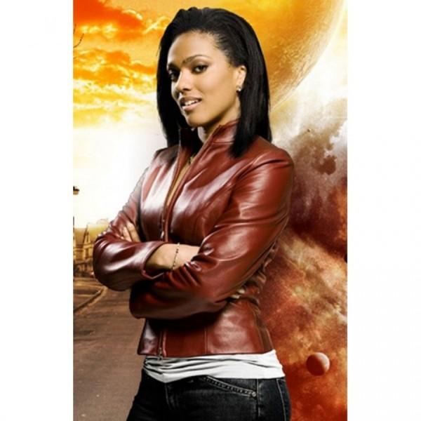 Doctor Who Freema Agyeman Leather Jacket