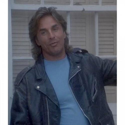 Don Johnson Miami Leather Jacket