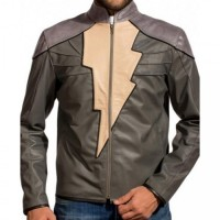 Dwayne Johnson Black Adam Injustice Leather Jacket