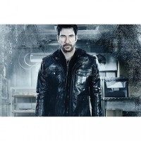 Dylan McDermott Freezer Movie Bomber Leather Jacket