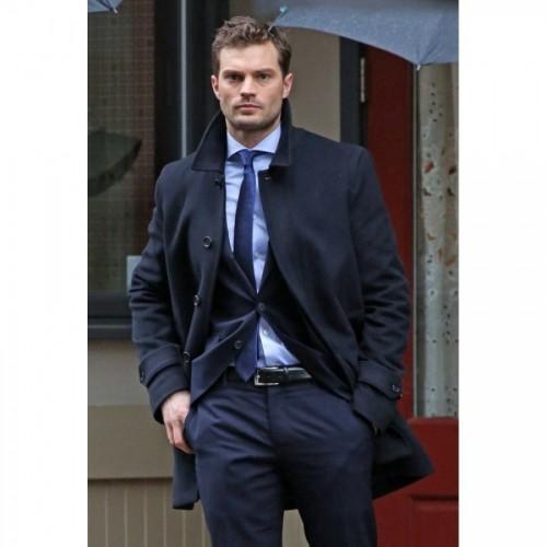 Fifty Shades Freed Jamie Dornan Coat