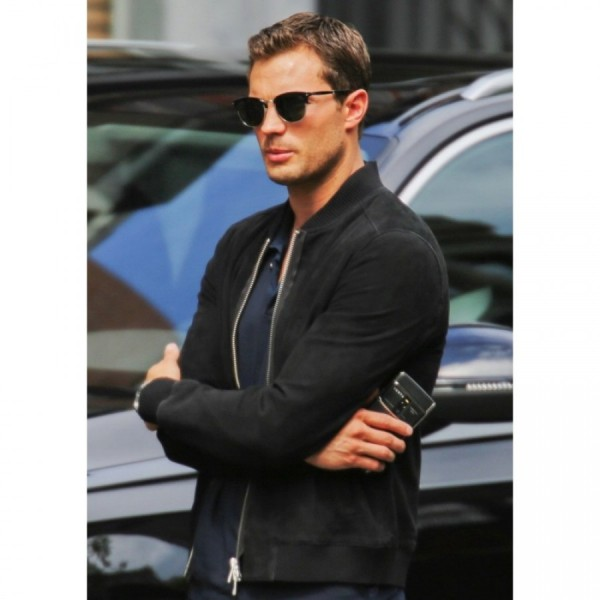 Fifty Shades Freed Jamie Dornan Leather Jacket