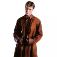Firefly Captain Malcom Reynolds Long Brown Coat