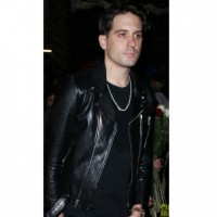 G Eazy Black Leather Jacket