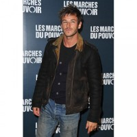 Gaspard Ulliel Brown Leather Jacket