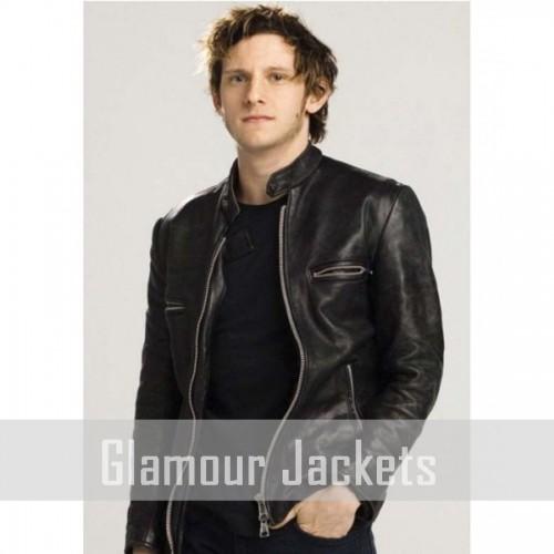 Griffin Leather Jumper Jacket
