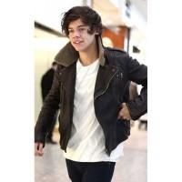 Harry Styles Leather Jacket