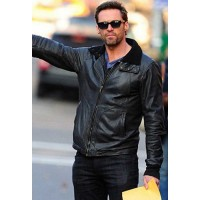Hugh Jackman Stylish Leather Jacket