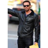Hugh Jackman Stylish Leather Jacket
